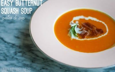 Easy AIP Butternut Squash Soup (Paleo)