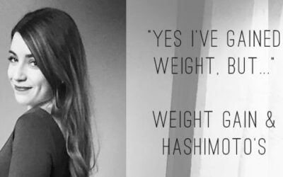 """Yes, I've gained weight, but…"" 