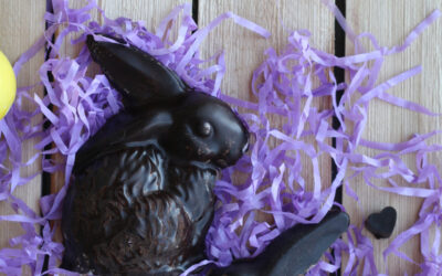 """Chocolate"" Carob Easter Bunnies (AIP, Paleo and Soy-free)"