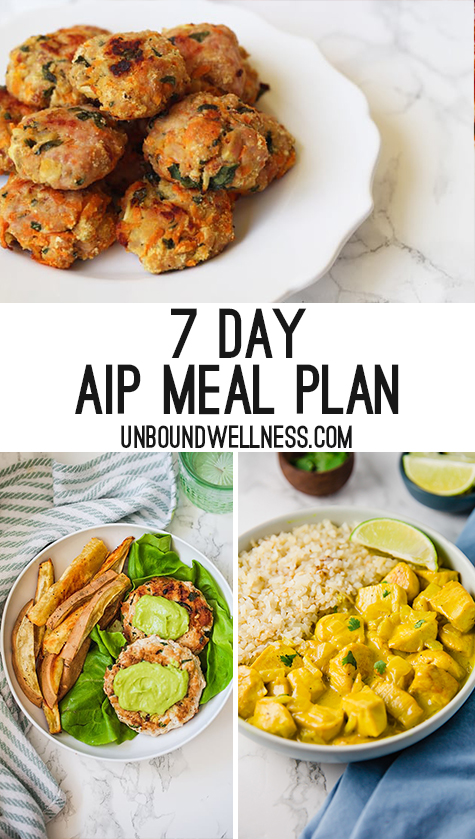 AIP Meal Plan - Unbound Wellness