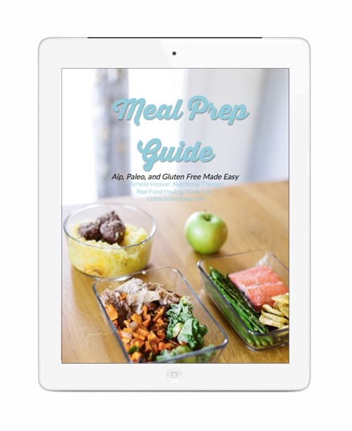 Easy Paleo/ AIP Meal Prep Guide