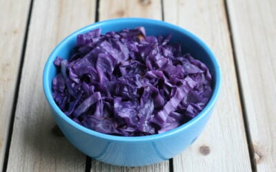 Oven Roasted Red Cabbage (AIP, Paleo)