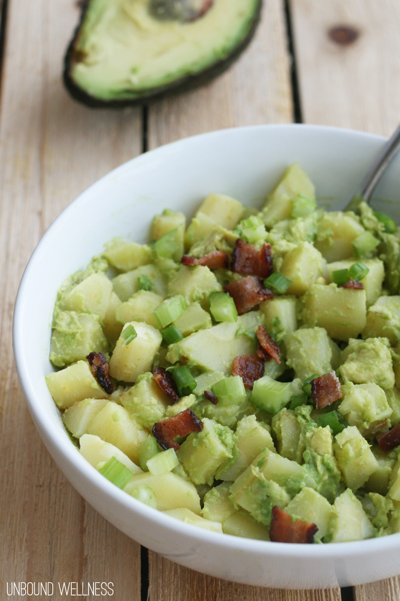 "AIP Avocado ""Potato"" Salad"