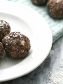 Chocolate Collagen Protein Bites