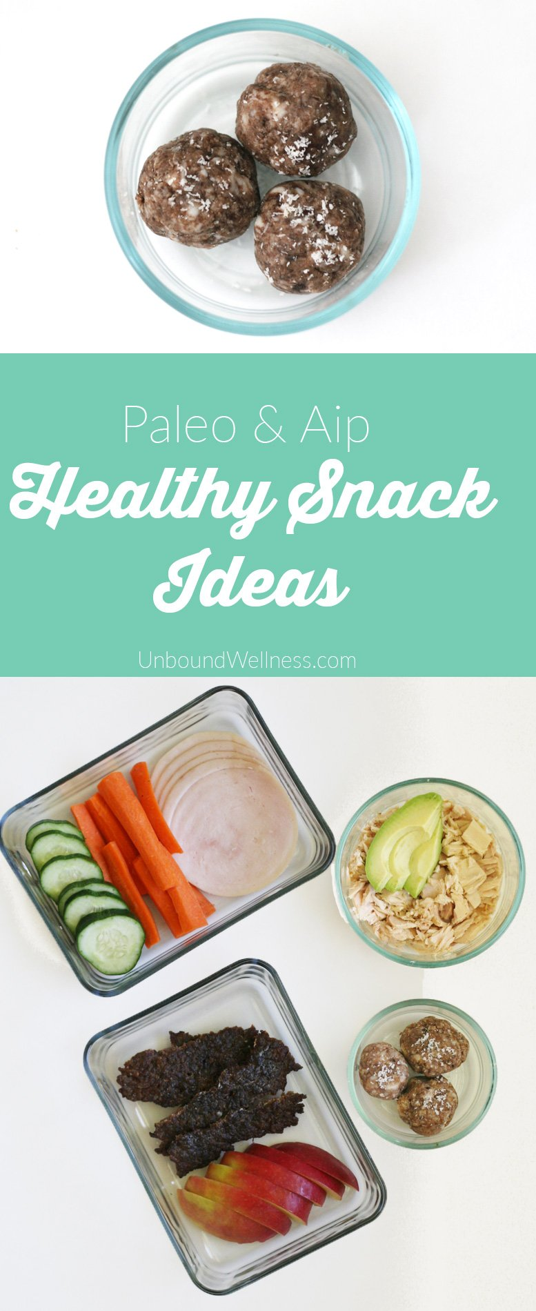Healthy Homemade AIP & Paleo Snacks on the Go