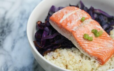 Paleo Caulirice & Salmon Bowl (AIP)