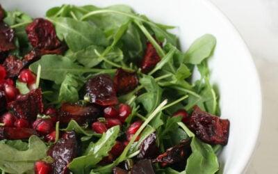 Pomegranate Beet Fall Salad (AIP, Paleo & Vegan)