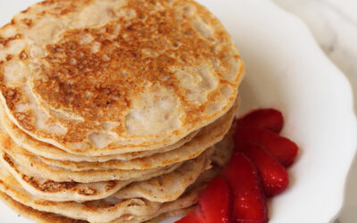 Paleo Egg-free Pancakes with Almond Flour