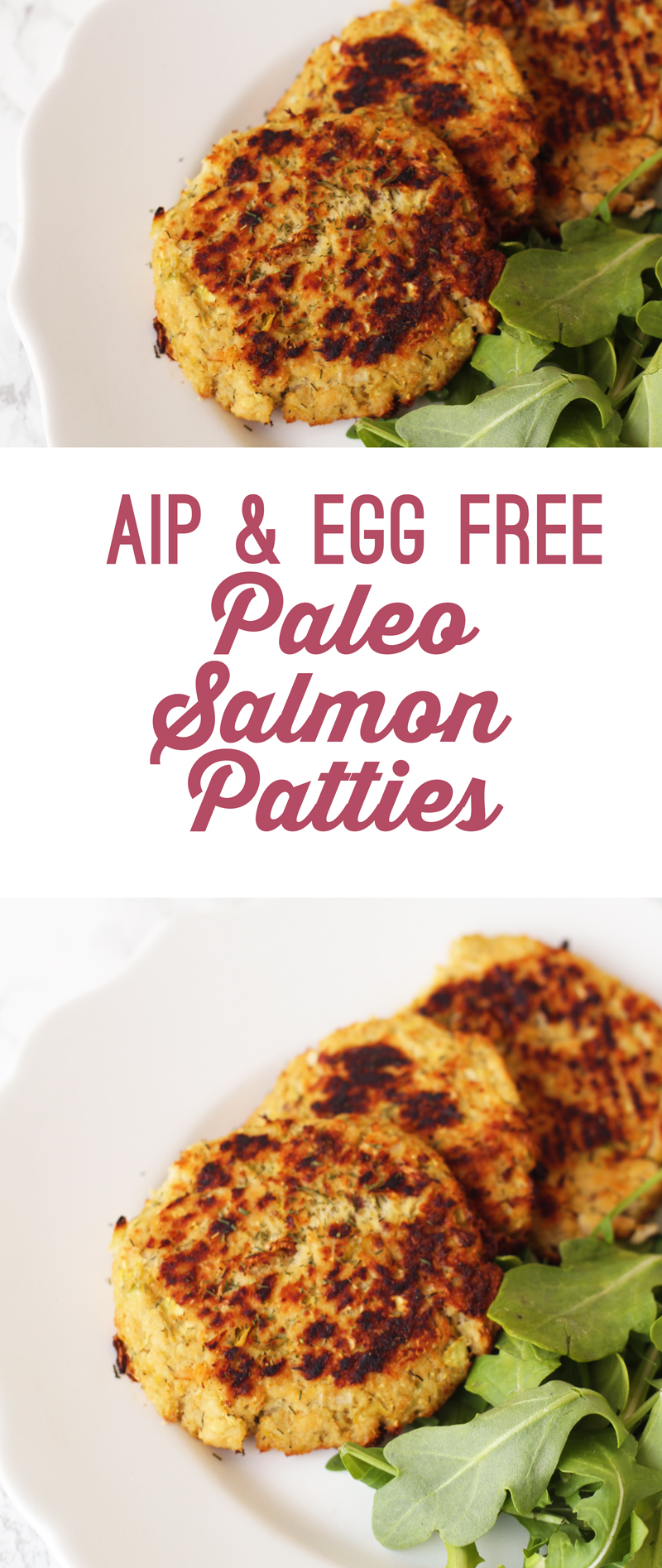 AIP Paleo Salmon Patties