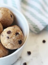 No-Bake Cookie Dough Bites (AIP, Paleo, Nut Free, Gluten Free)