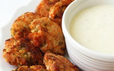 Bacon Ranch Chicken Poppers (Paleo, Whole 30, AIP)