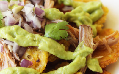 Plantain Carnitas Nachos (Paleo, AIP, Whole 30)