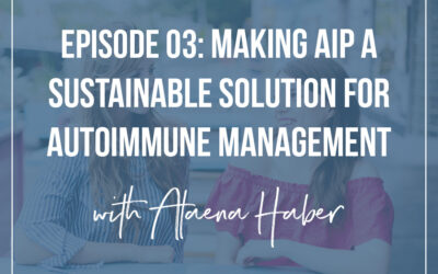 #3 : Making AIP Sustainable with Alaena Haber of Grazed & Enthused