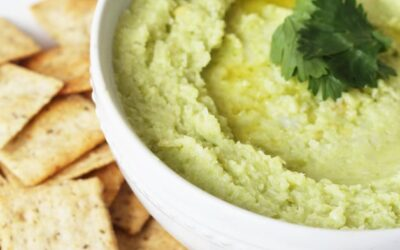 Avocado Cauliflower Hummus (Whole 30, Paleo, AIP)