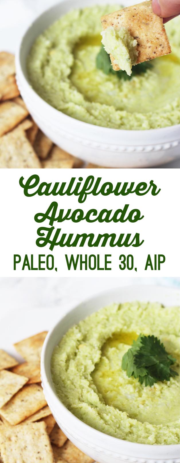 is hummus whole 30