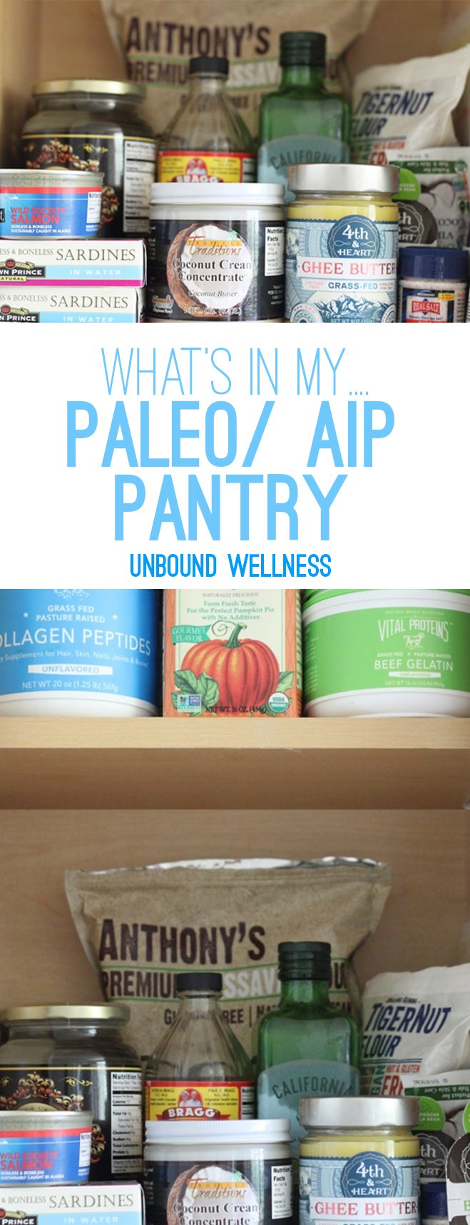 Paleo/ AIP Pantry Staples