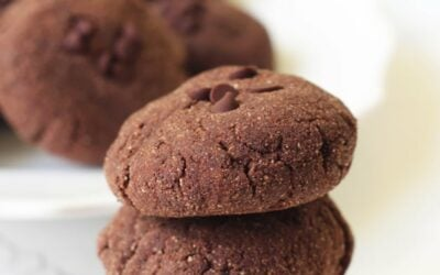 Avocado Chocolate Fudge Cookies (Paleo & AIP)