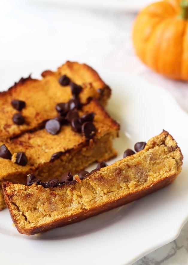 Paleo Chocolate Chip Pumpkin Bread (AIP, Gluten Free)
