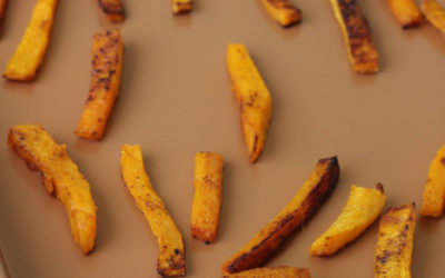 Crispy Baked Butternut Squash Fries (Paleo, Whole 30, AIP)