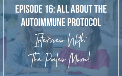 Episode #16 : All About The AIP with The Paleo Mom, Dr. Sarah Ballantyne