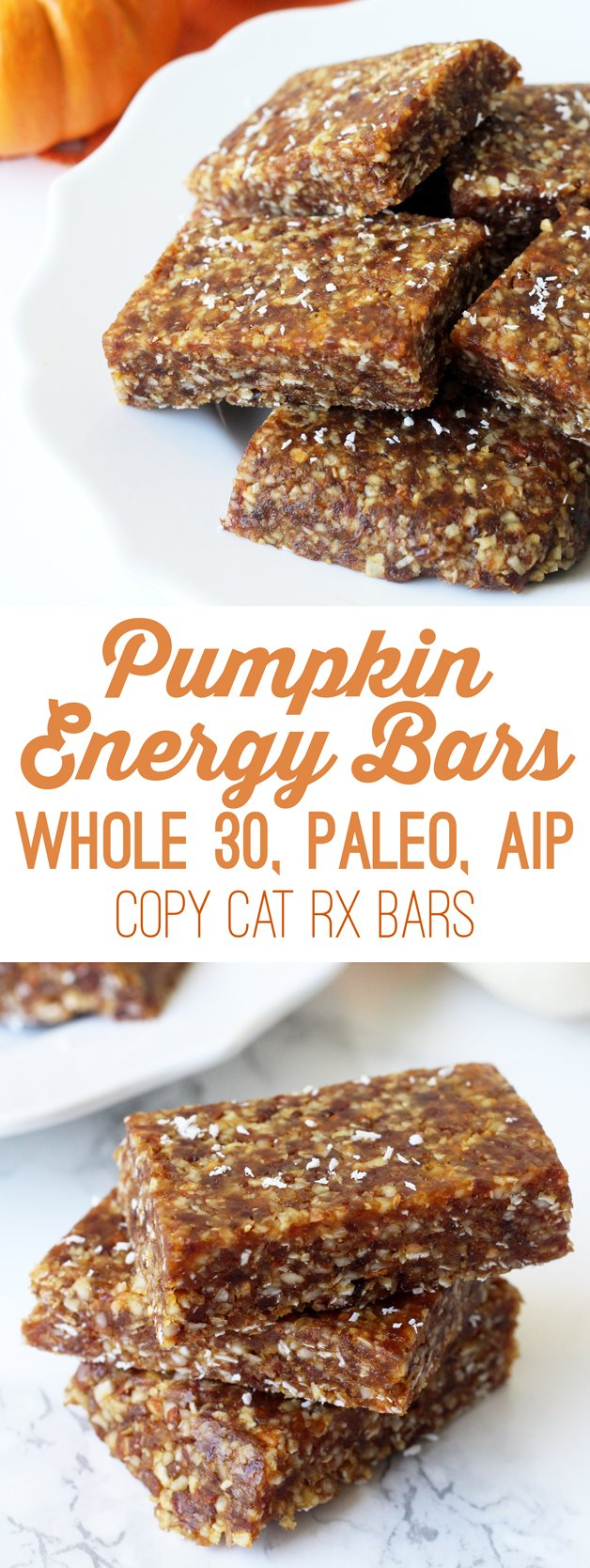 Paleo Pumpkin Energy Bars Whole 30 Amp Aip Unbound Wellness