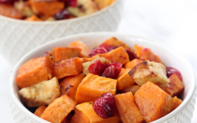 Roasted Cinnamon Sweet Potatoes & Apples