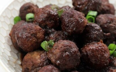 Paleo Cocktail Meatballs with Grape Jelly (AIP option)