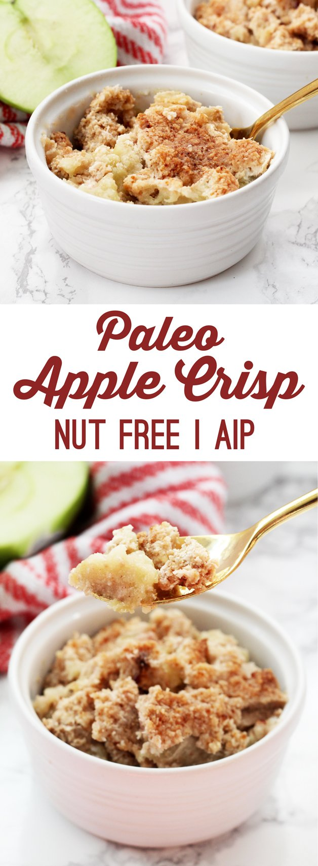 Paleo Apple Crisp (AIP & Nut Free)