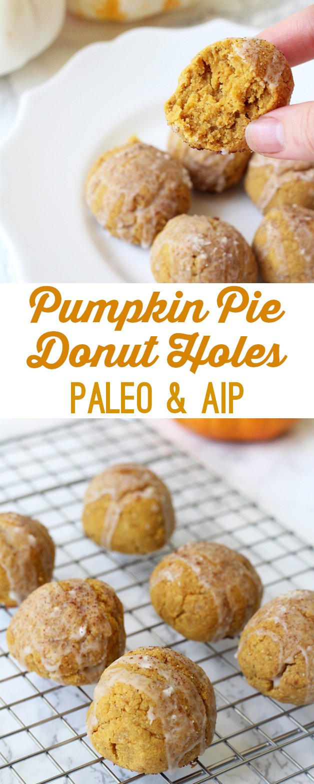 Pumpkin Pie Donut Holes (Paleo & AIP)