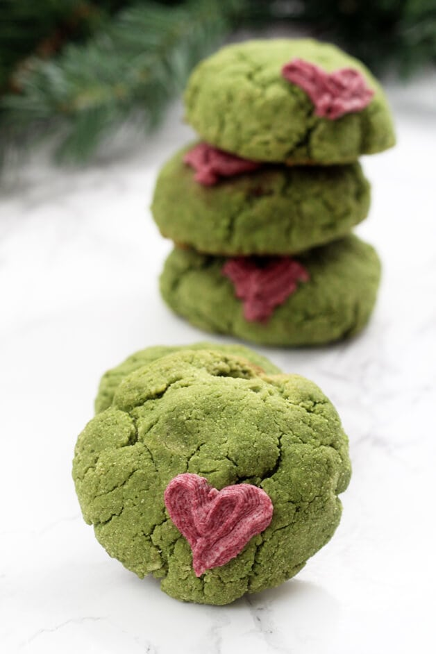 Grinch Cookies (Paleo, AIP, GF)