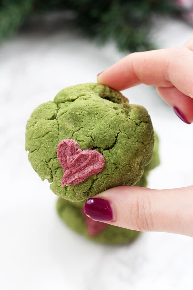 Paleo Grinch Cookies Aip