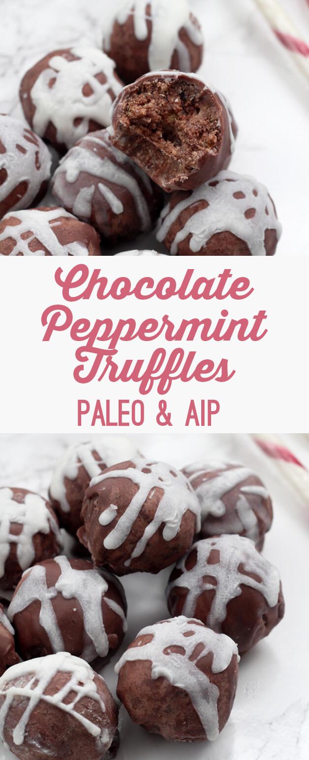Chocolate Peppermint Truffles (Paleo & AIP)