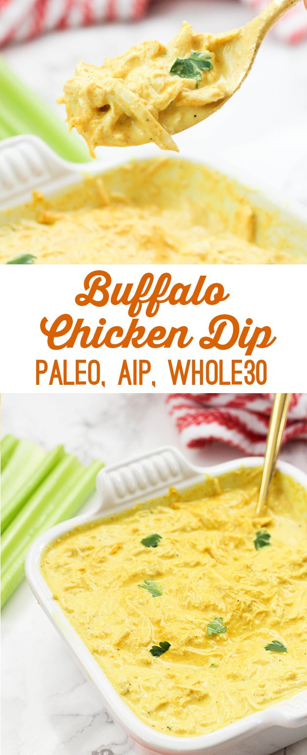 Buffalo Chicken Dip (AIP, Paleo, Whole30)