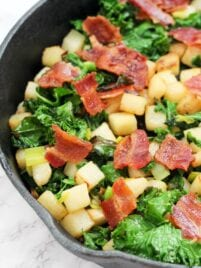 Jicama Breakfast Hash (Paleo, AIP, Whole 30)