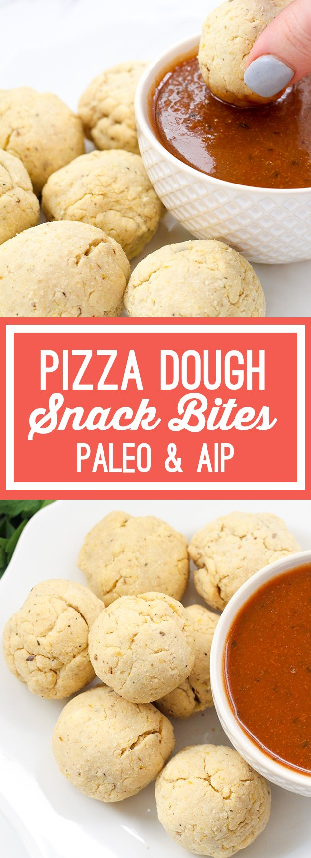 Paleo Pizza Dough Snack Bites (AIP)