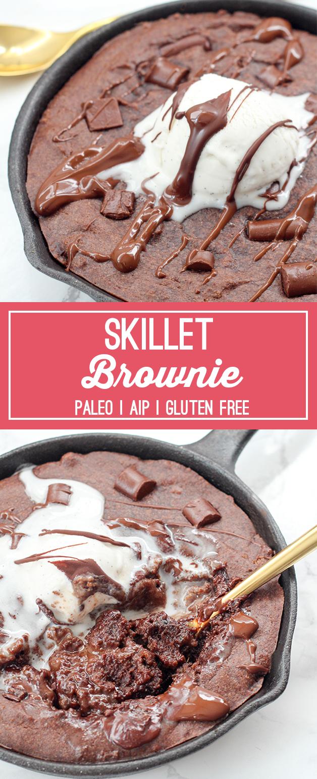 Paleo Brownie Skillet (AIP & Gluten Free)