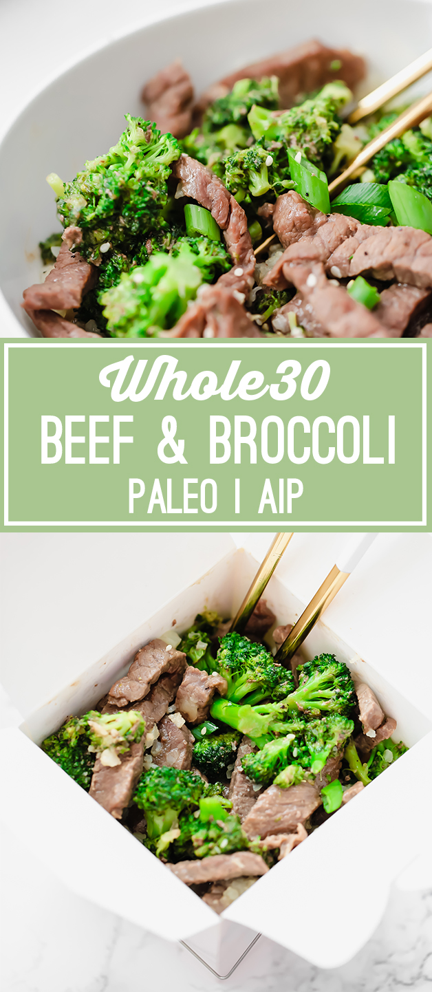Easy Beef and Broccoli (Paleo, Whole30, AIP)