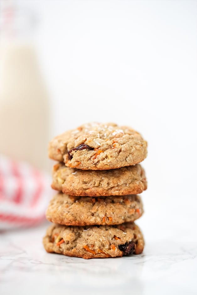 Carrot Cake Protein Cookies (Paleo, AIP)