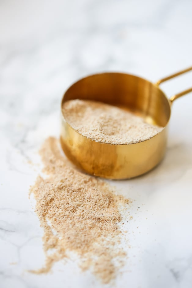 tigernut flour in measuring cup
