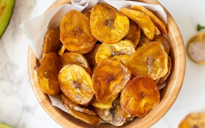 Baked Plantain Chips (Video, Paleo, AIP)