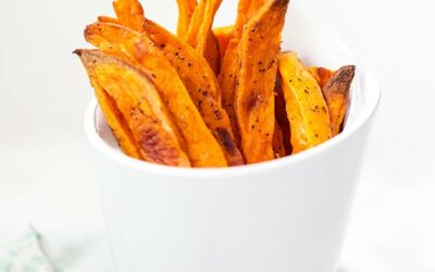 Baked Sweet Potato Fries (Paleo, Whole30, AIP)