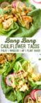 Bang Bang Cauliflower Tacos