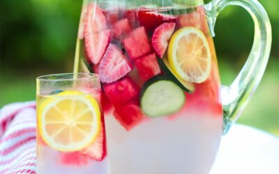 Ginger & Fruit Anti-inflammatory Infused Water