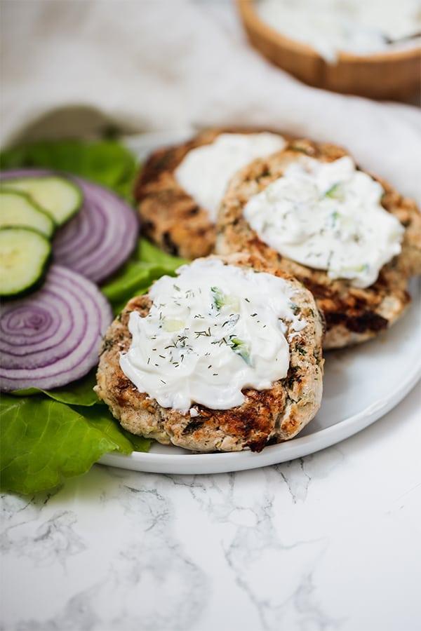 Greek Chicken Burgers Paleo Whole30 Keto Aip Unbound Wellness
