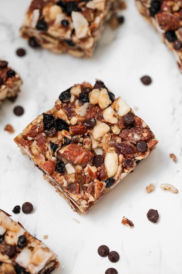 paleo grain free granola snack bars aip option unbound wellness