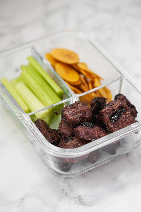 beef jerky lunch box