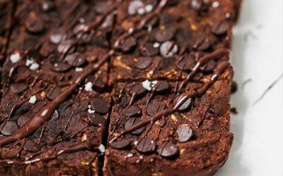 Paleo Chocolate Zucchini Brownies (AIP, Gluten Free)