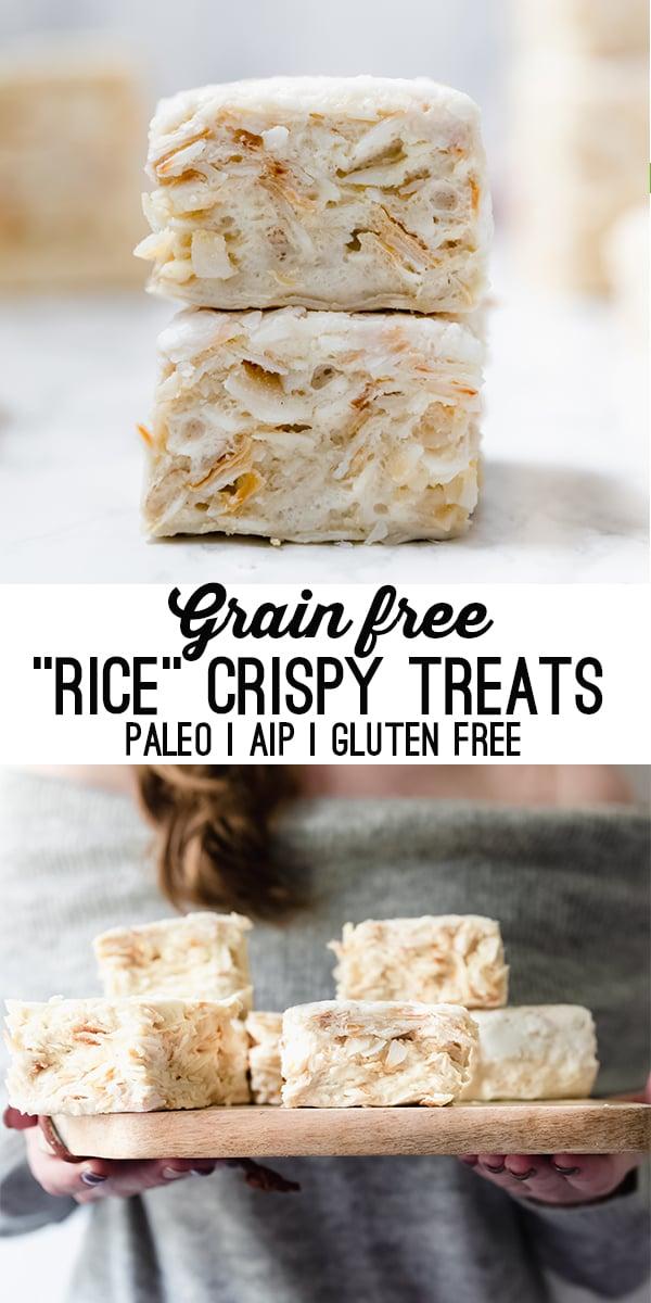 grain free rice treats