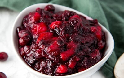 Apple Cranberry Sauce (Paleo, AIP)