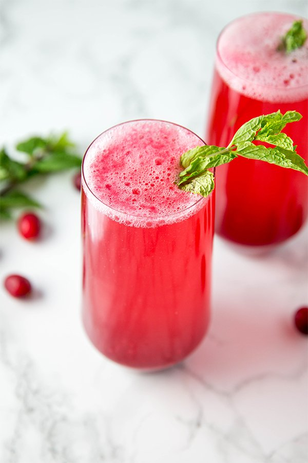 cranberry mocktail